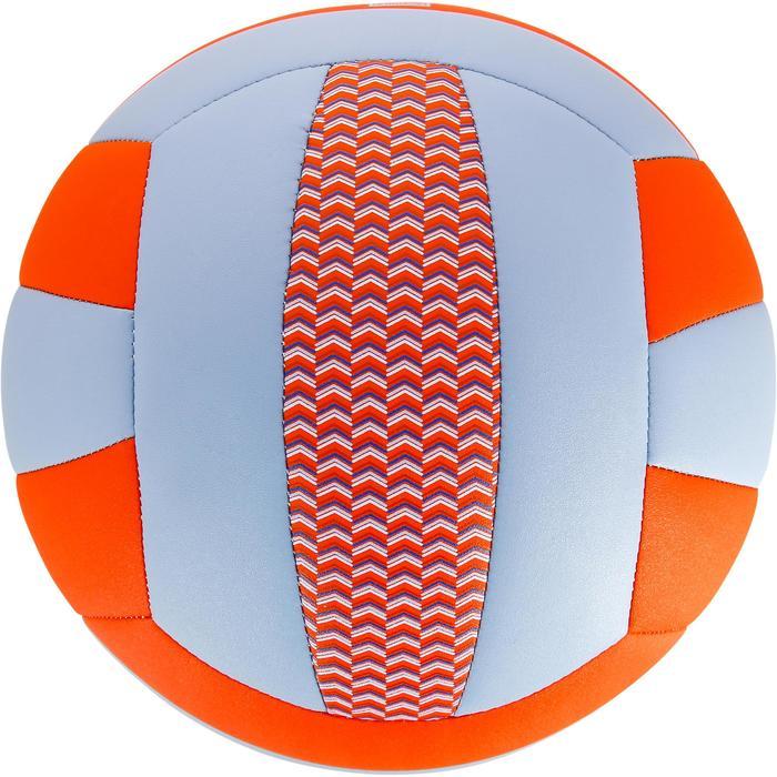 Bal volleybal V100 blauw en oranje