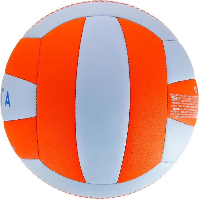 Ballon de volley-ball V100 bleu et orange