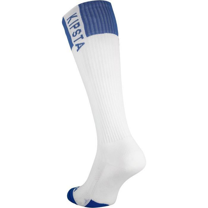 Volleyballsocken V500 Damen weiß/blau