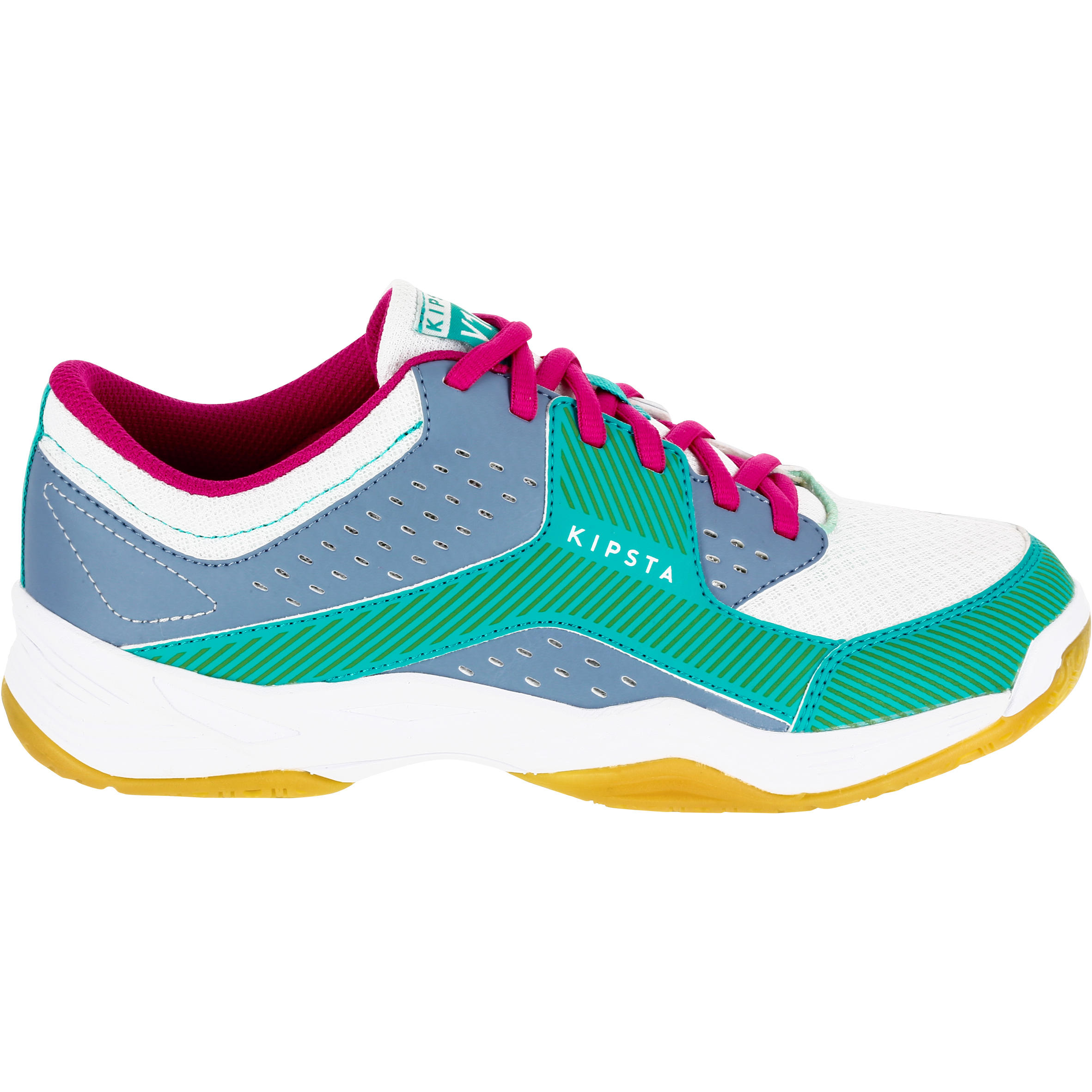 Volleyball Shoes - Blue/Green - Decathlon