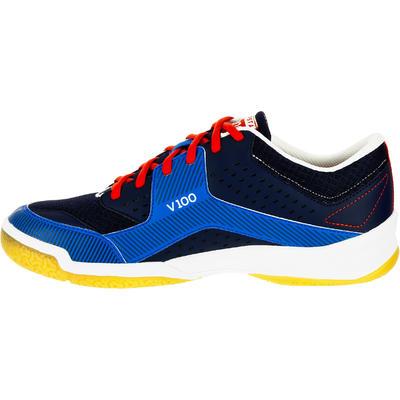 Волейбольні кросівки V100 для дорослих – Темно-сині