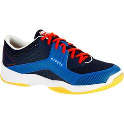 Volleybalschoenen V100 voor volwassenen blauw