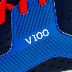 Volleyballschuhe V100 Herren blau