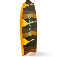 "Bodyboard 100 38"" naranja se entrega con correa"