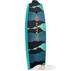 """Bodyboard 100 42"""" blau/grün mit Leash"""