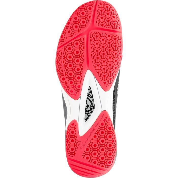 Chaussures de handball Mid femme grises et roses - 1312533