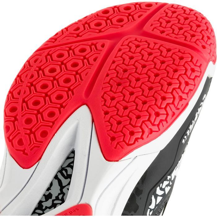 Chaussures de handball Mid femme grises et roses - 1312538