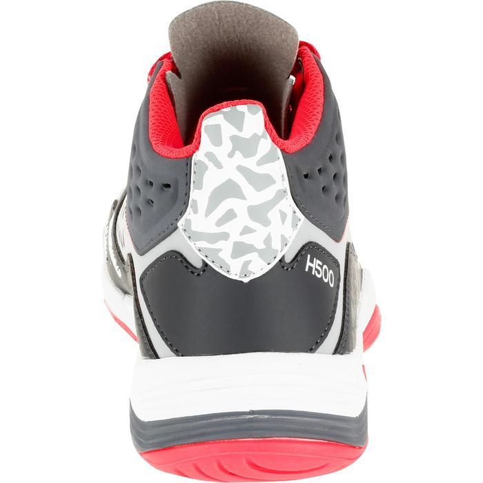 Chaussures de handball Mid femme grises et roses
