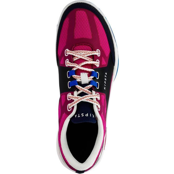Volleybalschoenen voor dames V500 blauw/roze