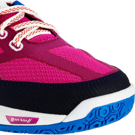 V500 Women's Volleyball Shoes - Blue/Pink