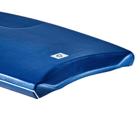 "Bodyboard 500 blue Size >1m85 45"" + leash"