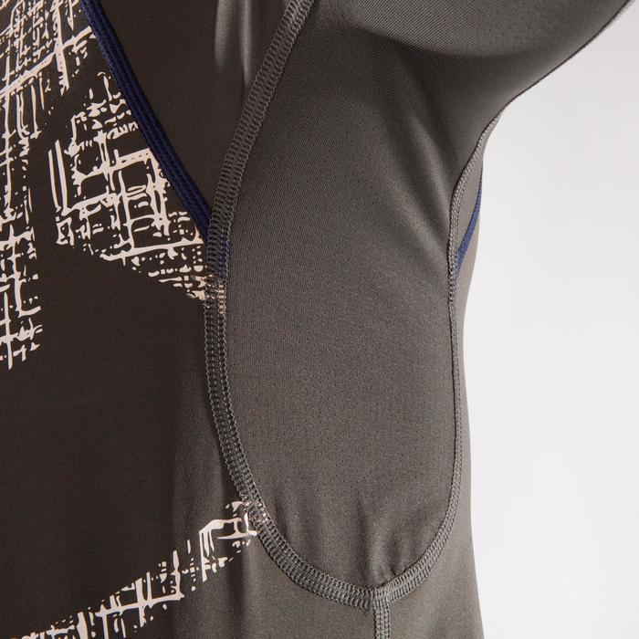 500 Cross Training Compression T-Shirt - Khaki