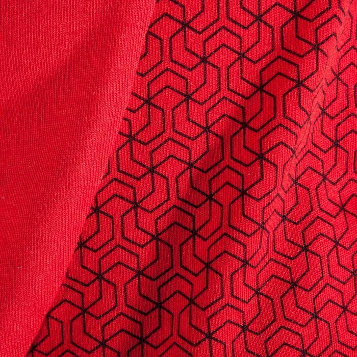 T-Shirt 500 Crosstraining Herren rot