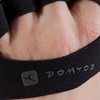 Grip Pad Weight Training Strengthening Gloves - Black