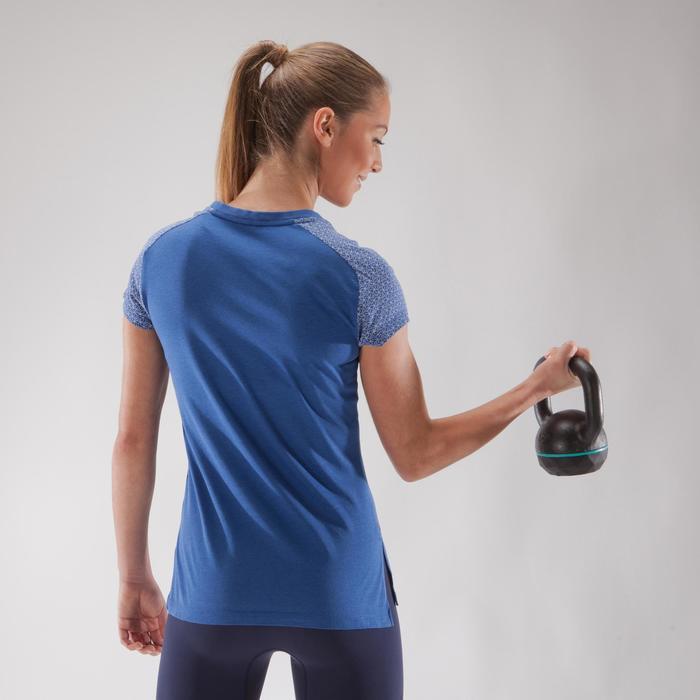 500 Women's Cross Training T-Shirt - Blue