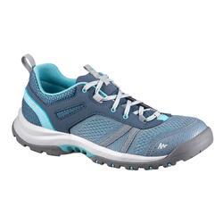 Chaussure de randonnée nature NH500 fresh gris bleu femme