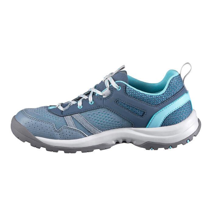Wanderschuhe Naturwandern NH500 Fresh Damen blau
