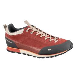 NH500 Men's Hiking Shoes - Khaki/Orange