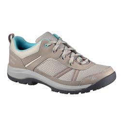 NH300 防水女款自然健行運動鞋 -米色