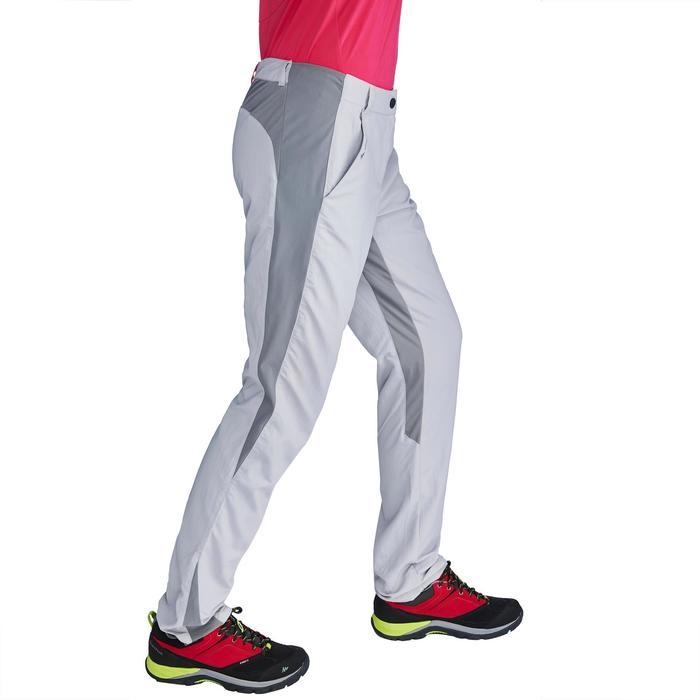 Pantalon de randonnée en montagne MH100 Femme Gris foncé - 1312818