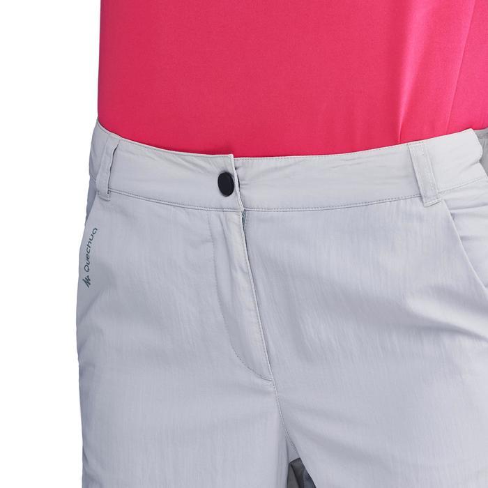 Pantalon de randonnée en montagne MH100 Femme Gris foncé - 1312820