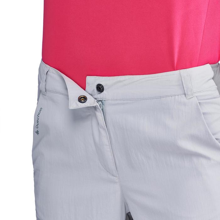Pantalon de randonnée en montagne MH100 Femme Gris foncé - 1312822