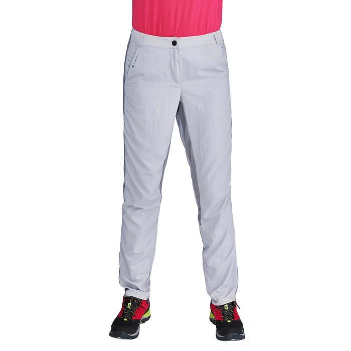 Pantalon de randonnée en montagne MH100 Femme Gris foncé - 1312823