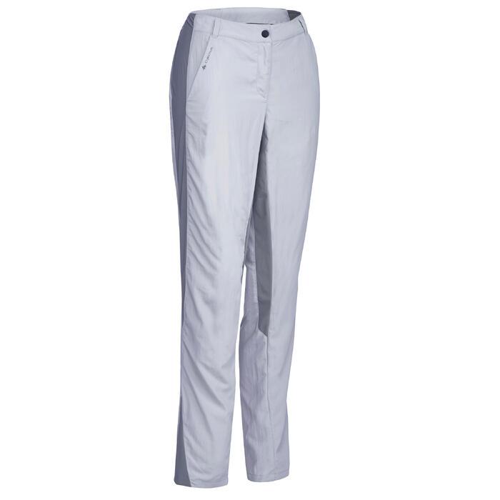 Pantalon de randonnée en montagne MH100 Femme Gris foncé - 1312825
