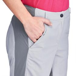 Pantalon de randonnée en montagne MH100 Femme Gris clair