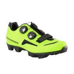 Zapatillas MTB ROCKRIDER XC 500 amarillo