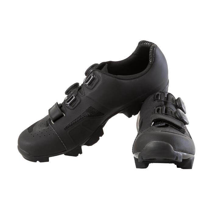 Zapatillas btt con calas XC 500 negras