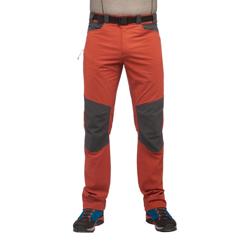 Pantalon Randonnée montagne MH500 homme Brique - Decathlon Martinique 65e0076eb76b