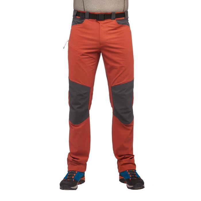 Pantalon Randonnée montagne MH500 homme Brique