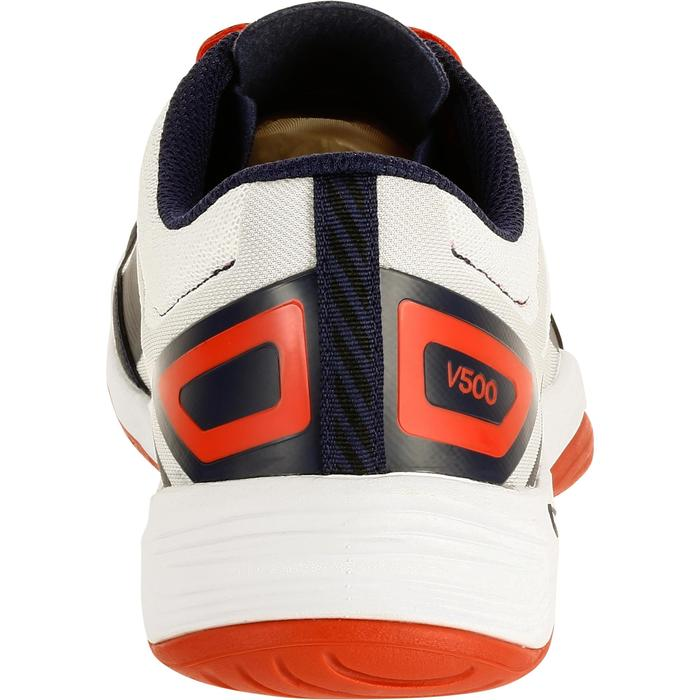 V500 Volleyball Shoes - White/Blue