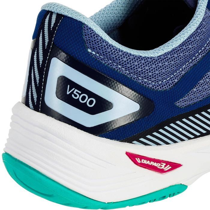 Zapatillas de voleibol V500 para mujer azules