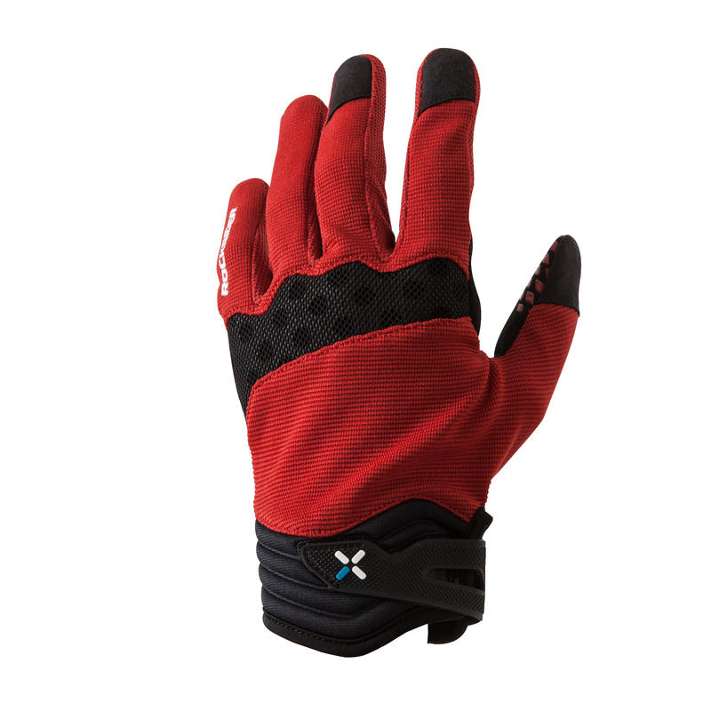 XC Mountain Bike Gloves - Red