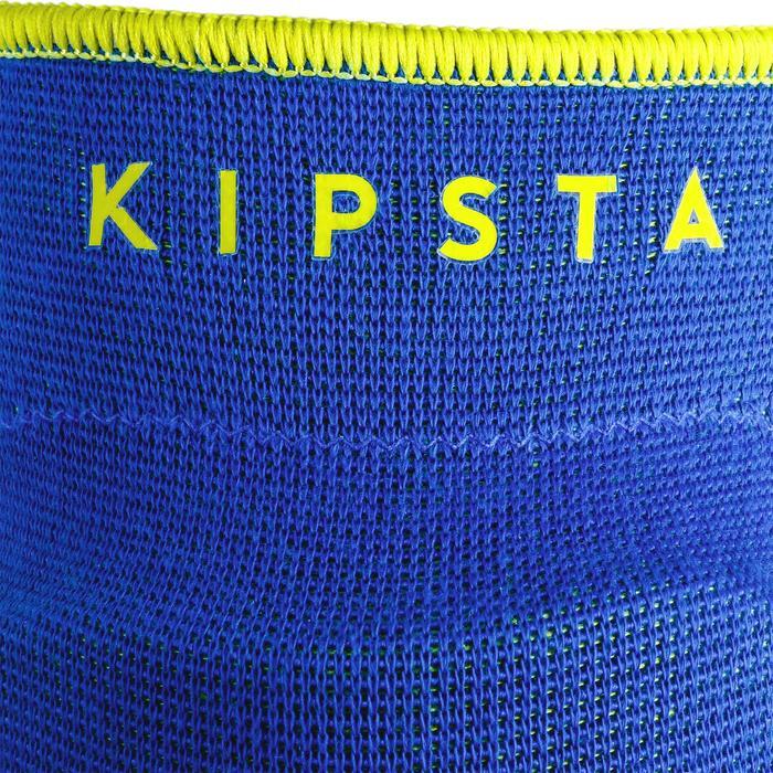 Genouillères de volley-ball V500 bleues et jaunes