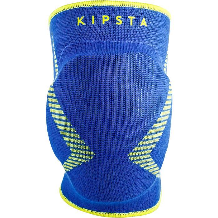 Knieschoner V500 Volleyball blau/gelb