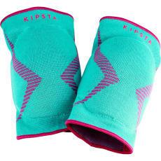 knee pad v500 turquoise rose
