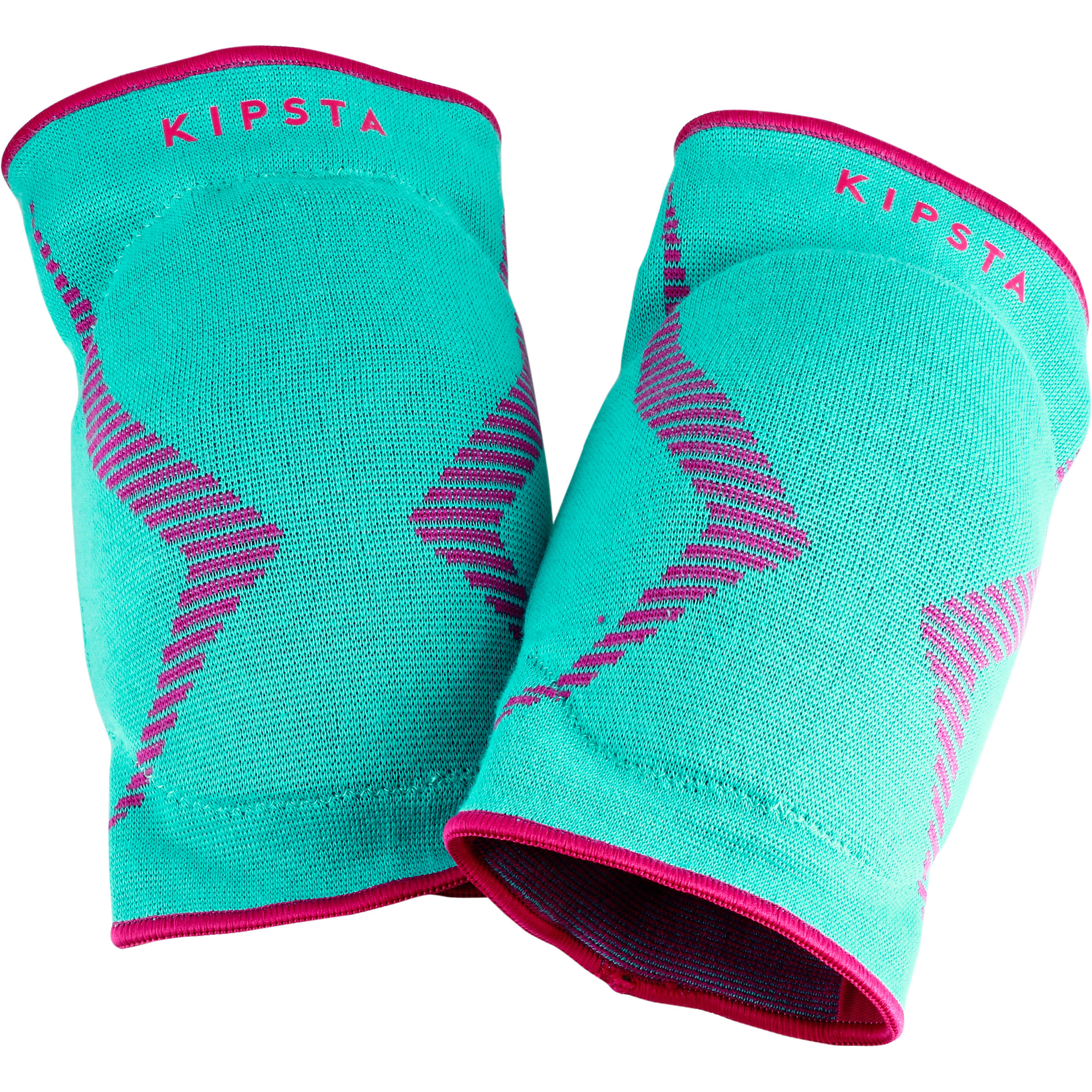 V500 Volleyball Knee Pads - Green and Pink