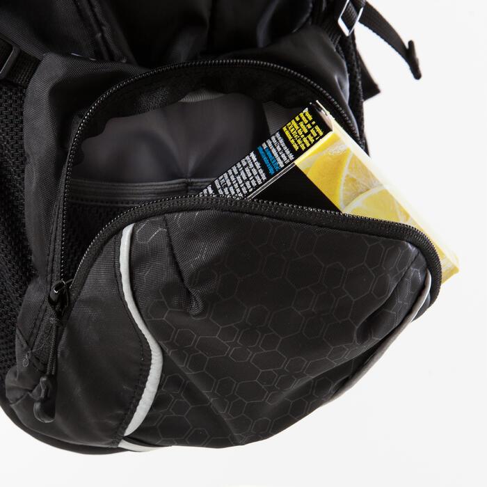 Drinkrugzak voor cross country mountainbiken Marathon zwart