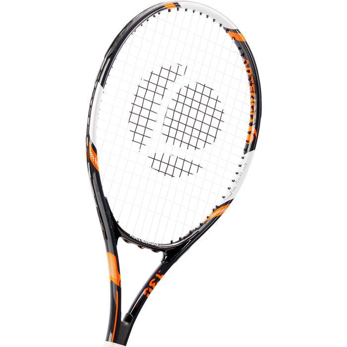 Set de 2 Raquettes de tennis adulte TR130 Bleue et Orange - 1313164
