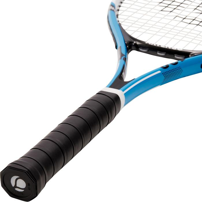 Set de 2 Raquettes de tennis adulte TR130 Bleue Orange