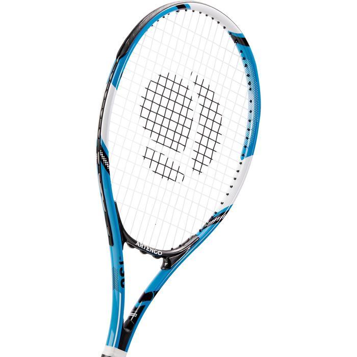 RAQUETTE DE TENNIS ADULTE TR130 BLEUE - 1313210