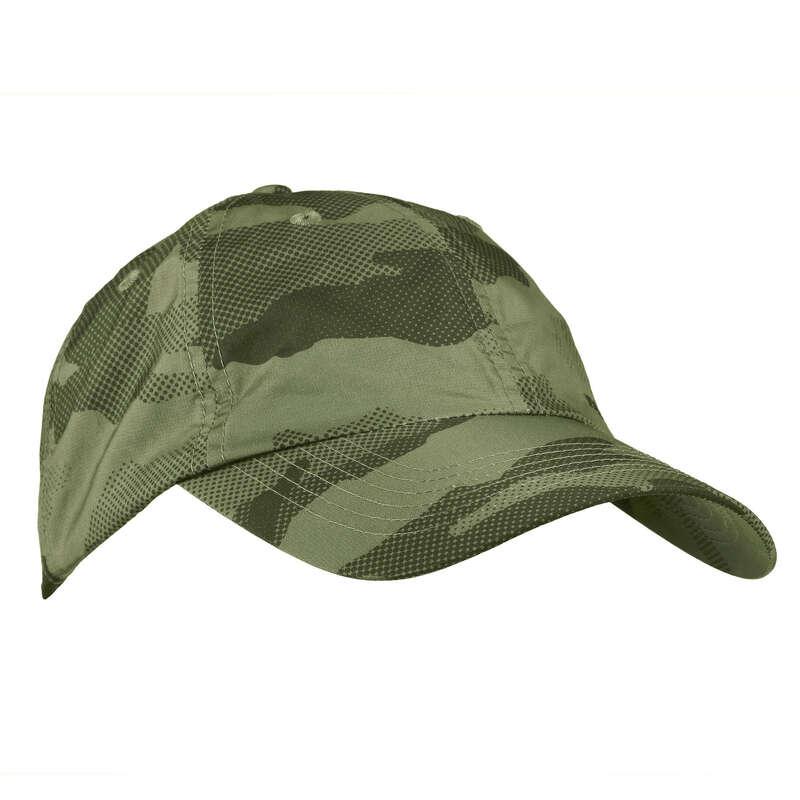 ÎMBRĂCĂMINTE VREME CALDĂ VÂNĂTOARE Imbracaminte - Șapcă Vânătoare Light Verde  SOLOGNAC - Accesorii