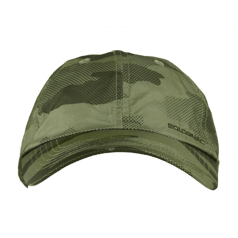 WILD DISCOVERY Lightweight cap - green camo