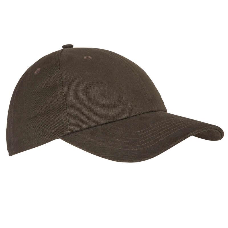 CAPPELLINI/CAPPELLI/BERRETTI CACCIA Abbigliamento uomo - Cappellino STEPPE 100 marrone SOLOGNAC - Accessori abbigliamento uomo