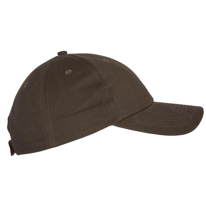 Jagd-Schirmmütze Steppe 100 braun