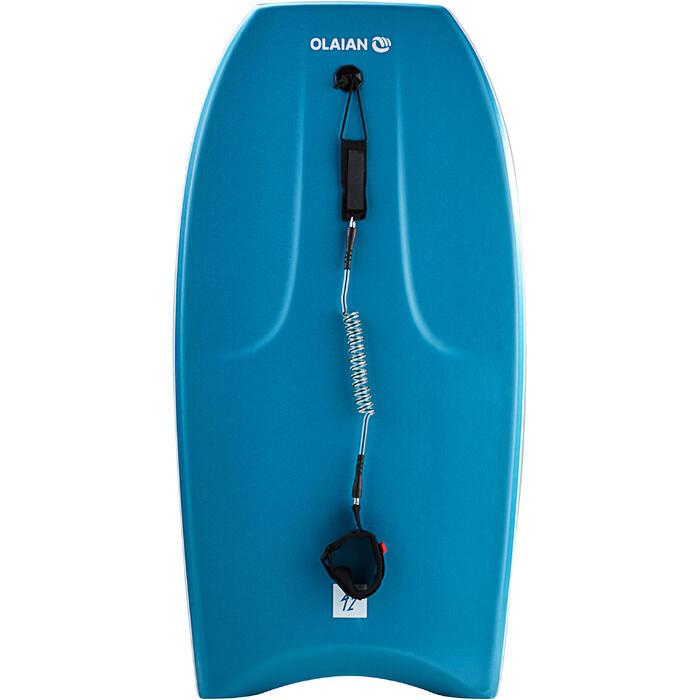 """趴板500 40""""(1.70到1.7 m適用,附手繩) -藍色"""