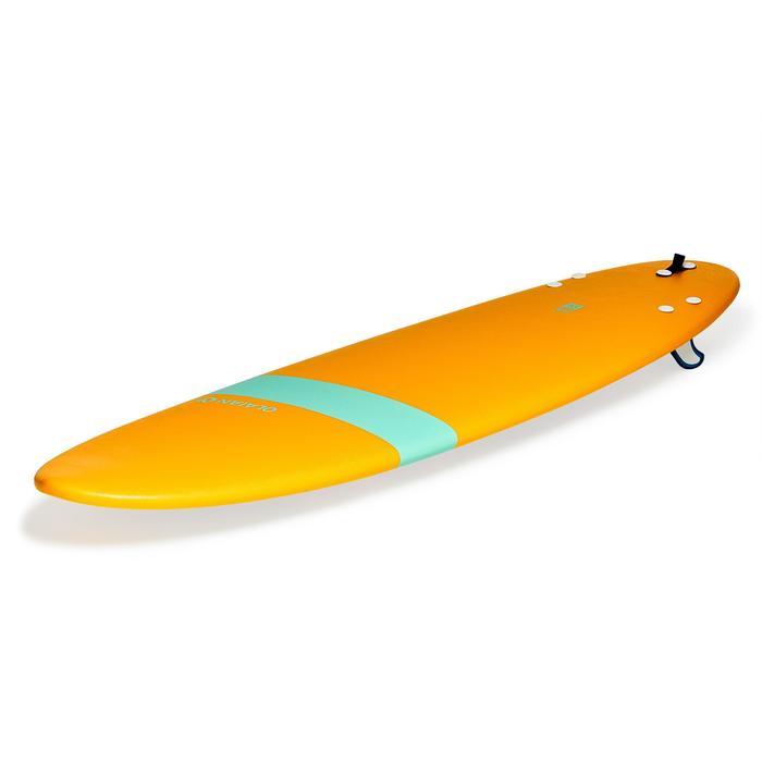 Planche de surf en mousse 100 7'. Livrée avec leash et ailerons. - 1313339